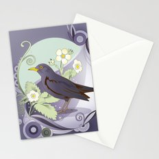 Blackbird Stationery Cards