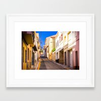 spain Framed Art Prints featuring Spain by Nskey