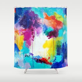 Love is a Give & Take Shower Curtain