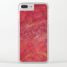 Lava Clear iPhone Case