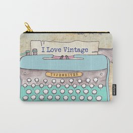 Typewriter #3 Carry-All Pouch