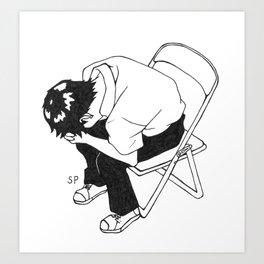 SHINJI-KUN Art Print