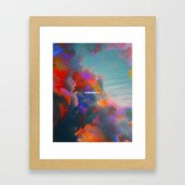 Subsidence Framed Art Print