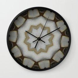 Peddle Ivory Wall Clock