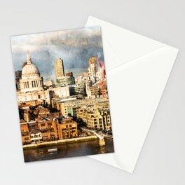 London, England Stationery Cards