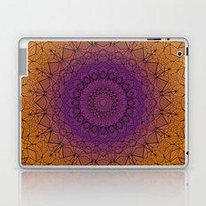 Sunset Stained Glass Mandala Laptop & iPad Skin