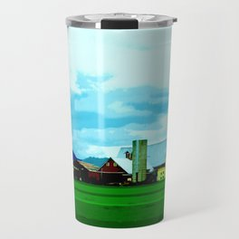 All At Once We Had It In For The Sky Travel Mug