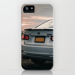 White Sports Car in the Shadows (5 of 6) iPhone Case