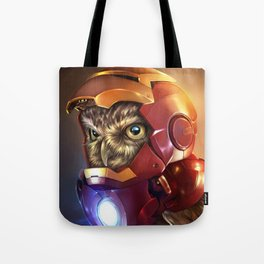 Iron Owl Tote Bag