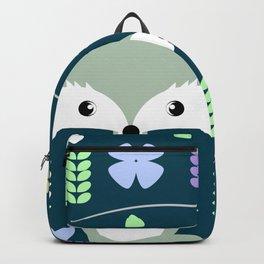 Fox among flowers Backpack