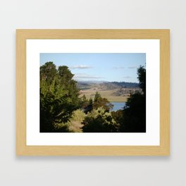 Mt Barrow -Tasmania Framed Art Print