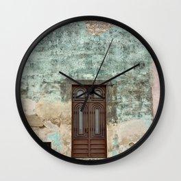 The Doors of Merida V Wall Clock
