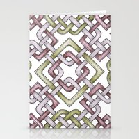 celtic Stationery Cards featuring Celtic Knotwork by Carrie at Dendryad Art