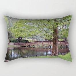 Park Geese Rectangular Pillow