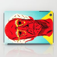 larry david iPad Cases featuring Larry David 4 by Alyssa Underwood Contemporary Art