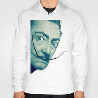 dali Hoodies featuring Dali by Fantastikat