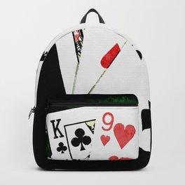Blackjack Card Game, 21 Count, King Nine Two Combination Backpack