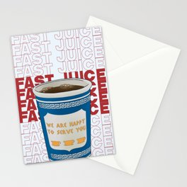 Gotta Have My Fast Juice Stationery Cards