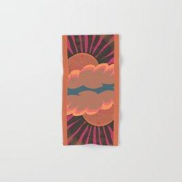 Pink Rays Hand & Bath Towel