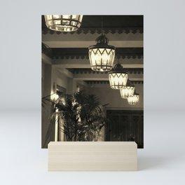 Lanterns Mini Art Print