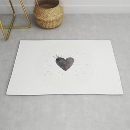 your heart is my target Rug