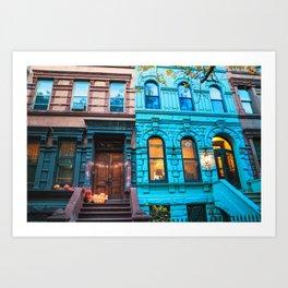 New York City Colors Art Print
