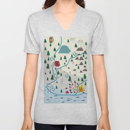 summer camp Unisex V-Neck