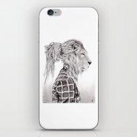 reggae iPhone & iPod Skins featuring Reggae Lion by SABIN.M