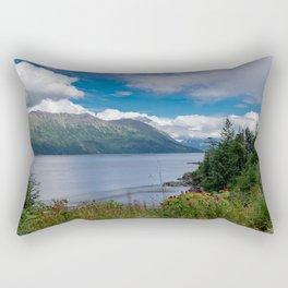On The Road To Hope, Alaska Rectangular Pillow