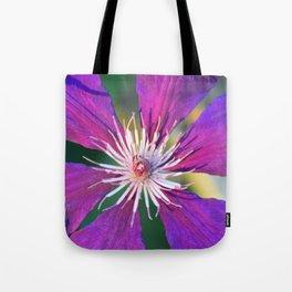 Fiore Viola Tote Bag