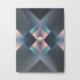 Hope Circle Metrics Metal Print