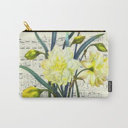 Daffodil Spring Song Carry-All Pouch
