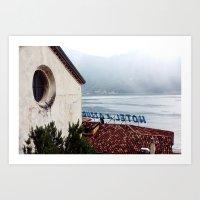 Hotel du Lac Art Print