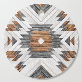 Urban Tribal Pattern No.8 - Aztec - Wood Cutting Board