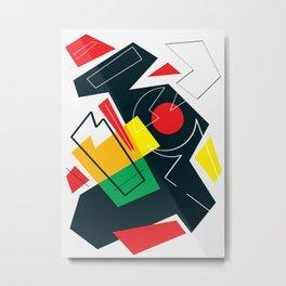 La Pagaille 02 Metal Print