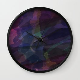 CAMOUFLAGE LILAC Wall Clock
