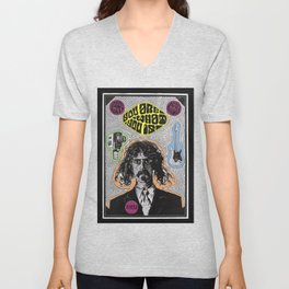 Tribute to Frank Zappa Unisex V-Neck