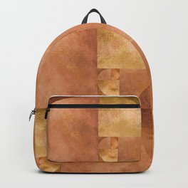 Golden Ratio, Golden Spiral Art Backpack