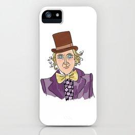 Sweet Gene - Willy Wonka iPhone Case