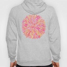Watercolor Burst – Pink Ombré Hoody
