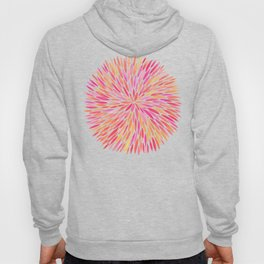 Watercolor Burst – Pink Ombré Hoody