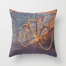 The Bike Throw Pillow