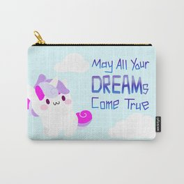 unicorn - may all your DREAMs come true Carry-All Pouch