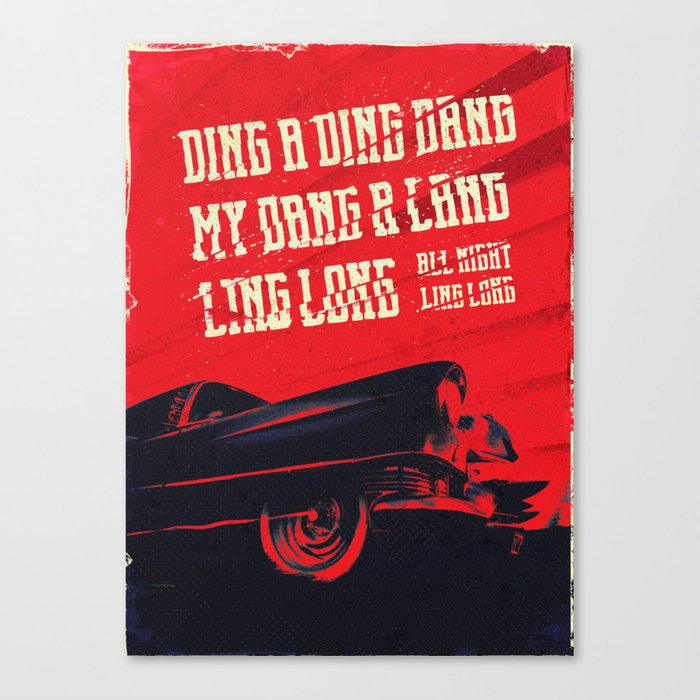 My DANG! Canvas Print