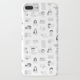 Gilmore Girls quotes iPhone Case