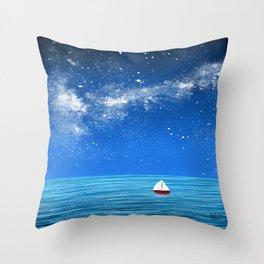 Smooth Sailin Throw Pillow