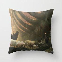 ARK Throw Pillow