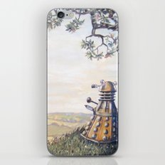 A rather Dalek afternoon iPhone Skin