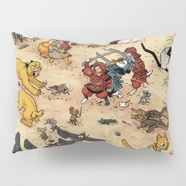 CAT VS MICE Pillow Sham