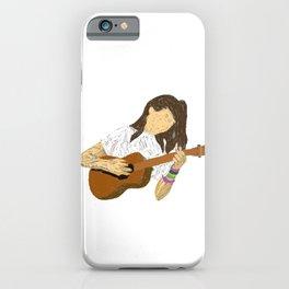 dodie clark ukulele art iPhone Case